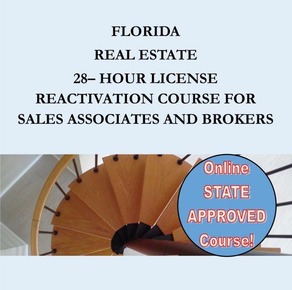Florida 28 Hour Reactivation Course