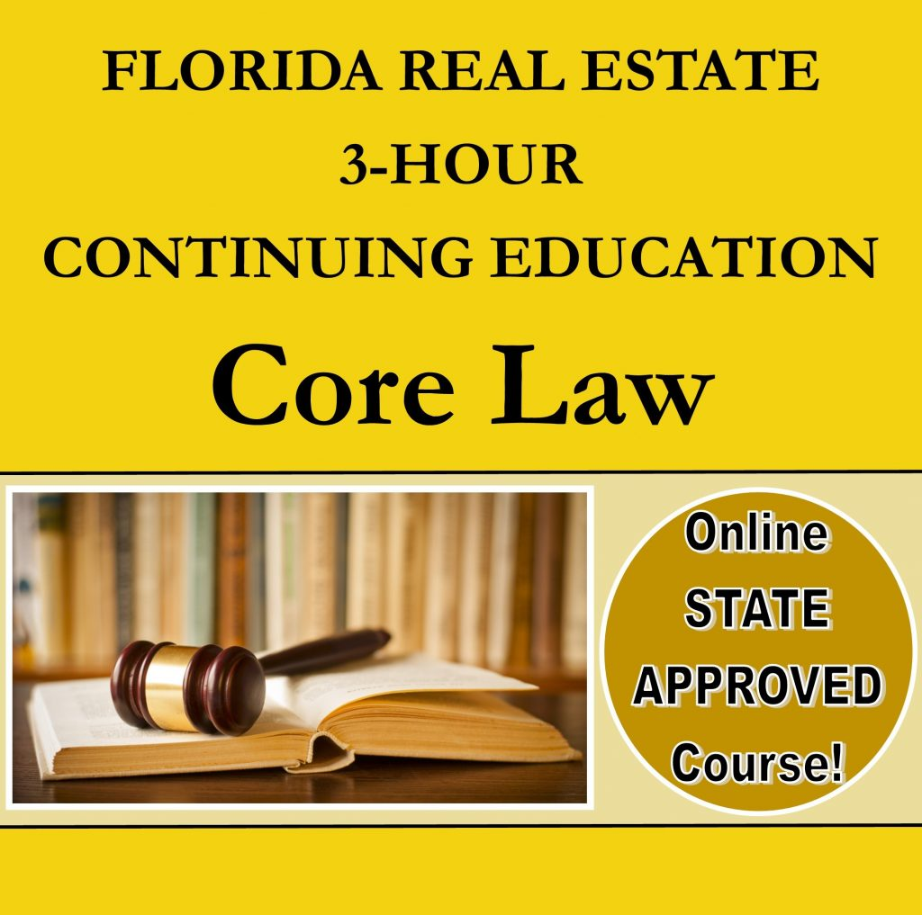 Azure Tide Realty School All Florida School of Real Estate continuing education law
